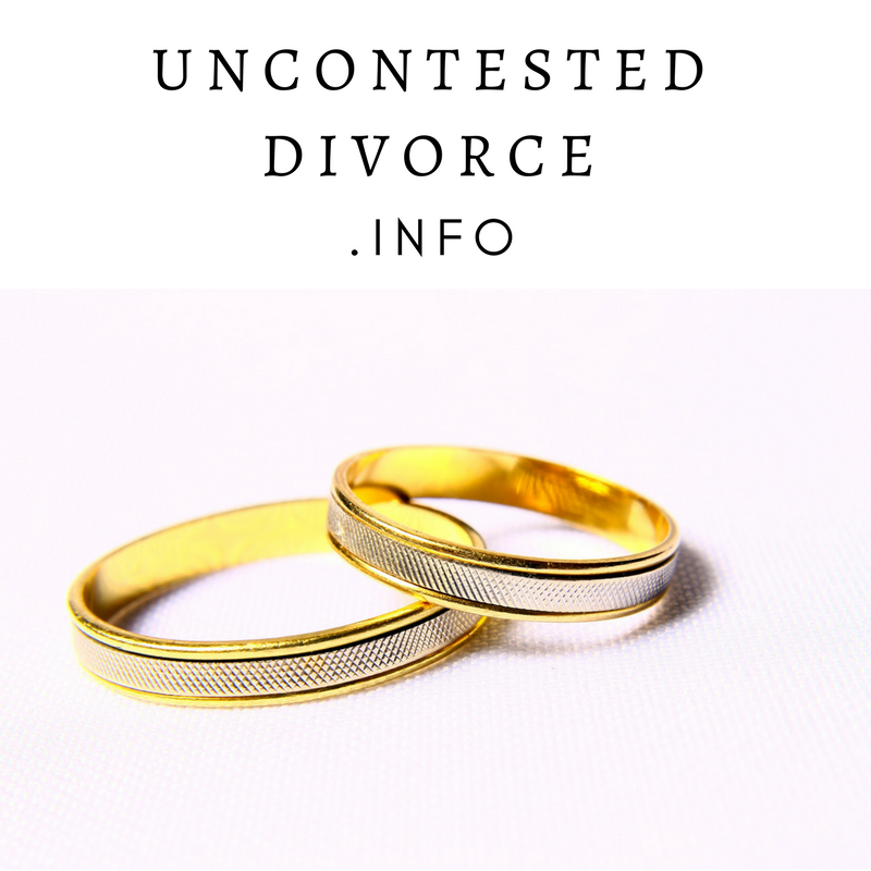 UNCONTESTEDDIVORCE